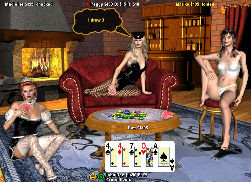 free Strip poker online for
